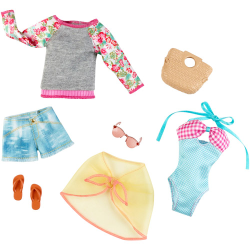 Barbie Beach Fashion, 2-Pack