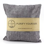 500g Bamboo Charcoal Air Purifier Bag- Natural Air Freshener Odor Absorber Eliminator & Deodorizer Removes Moisture, Allergens in Your Bathroom, Kitchen, Car, RV, Closet By Bamboo Air …