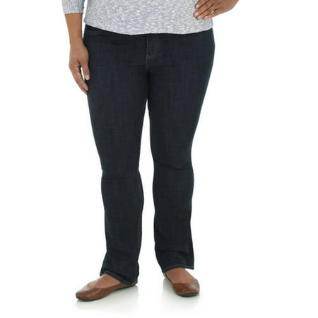 e6348d27d61 Lee Riders - Womens' Plus-Size Slender Stretch Bootcut Jean - Walmart.com