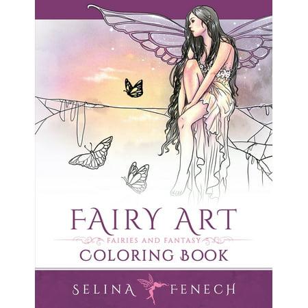 Fairy Art Coloring Book Art Coloring Book