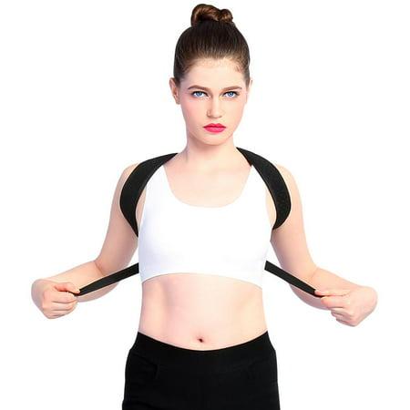 Dilwe Men Women Posture Corrector Support Brace Magnetic Back Shoulder Belt Adjustable, Brace Support,Posture Corrector