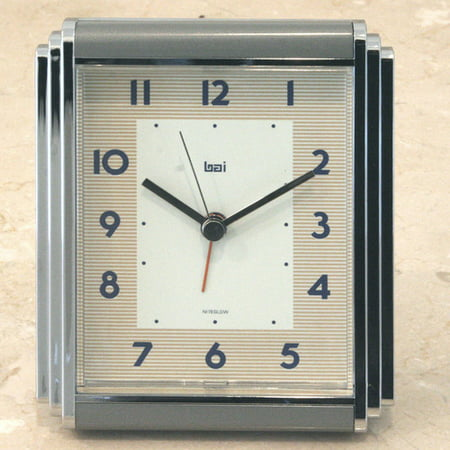 Bai Westchester Chrome Plated Alarm Clock  Landmark