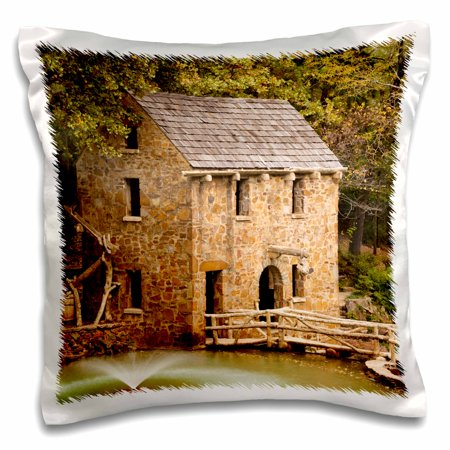 3dRose USA, Arkansas, North Little Rock, The Old Mill. - Pillow Case, 16 by - Party City North Little Rock Ar