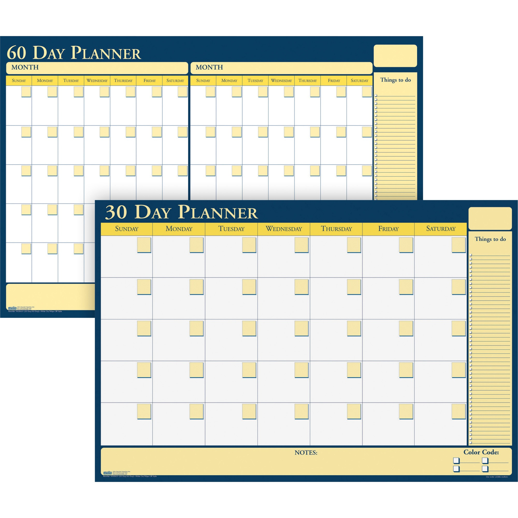 House of Doolittle Non-dated 30/60 Day Planner