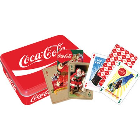 Aquarius Coca-Cola - Red Special Edition Playing Card Set in a (Special Edition Tin)