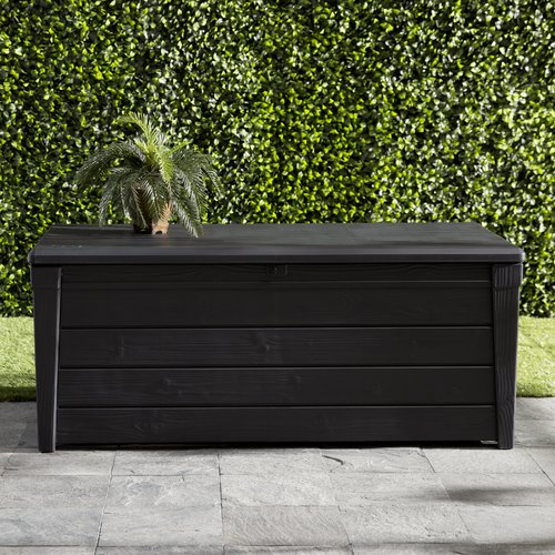 Keter Brightwood 120 Gallon Resin Deck Box by Keter