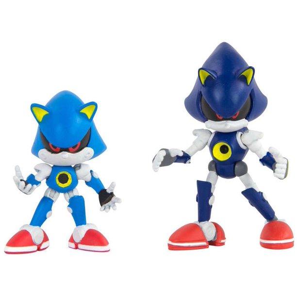 Sonic The Hedgehog Classic Metal Sonic Modern Metal Sonic Action