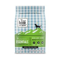 """""""I and love and you."""" Naked Essentials Lamb & Bison Grain Free Dry Dog Food"""