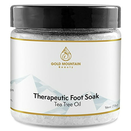 Tea Tree Oil Antifungal Foot Soak by Rocky Mountain Essentials 16 oz