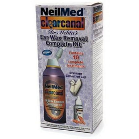 NeilMed Clear Canal Ear Wax Removal Complete Kit 1 kit (Pack of 6) -  Walmart com