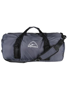 Hopsooken 50L Packable Travel Duffle Bag Waterproof Foldable Sport Gym Bag Nylon