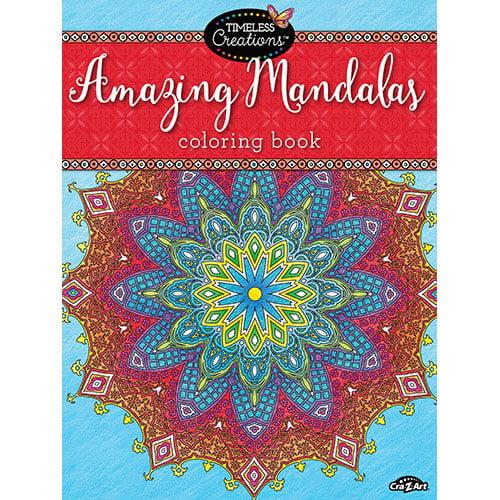 Cra-Z-Art  Timeless Creations AMAZING MANDALAS Coloring Book