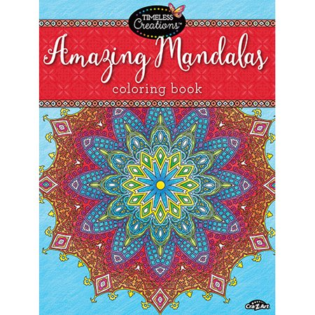cra z art timeless creations amazing mandalas coloring book - Walmart Coloring Books
