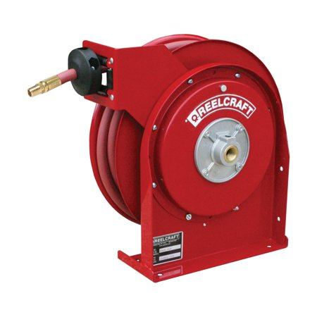 Reelcraft Premium Duty Compact Air Water 1 4 In  Hose Reel