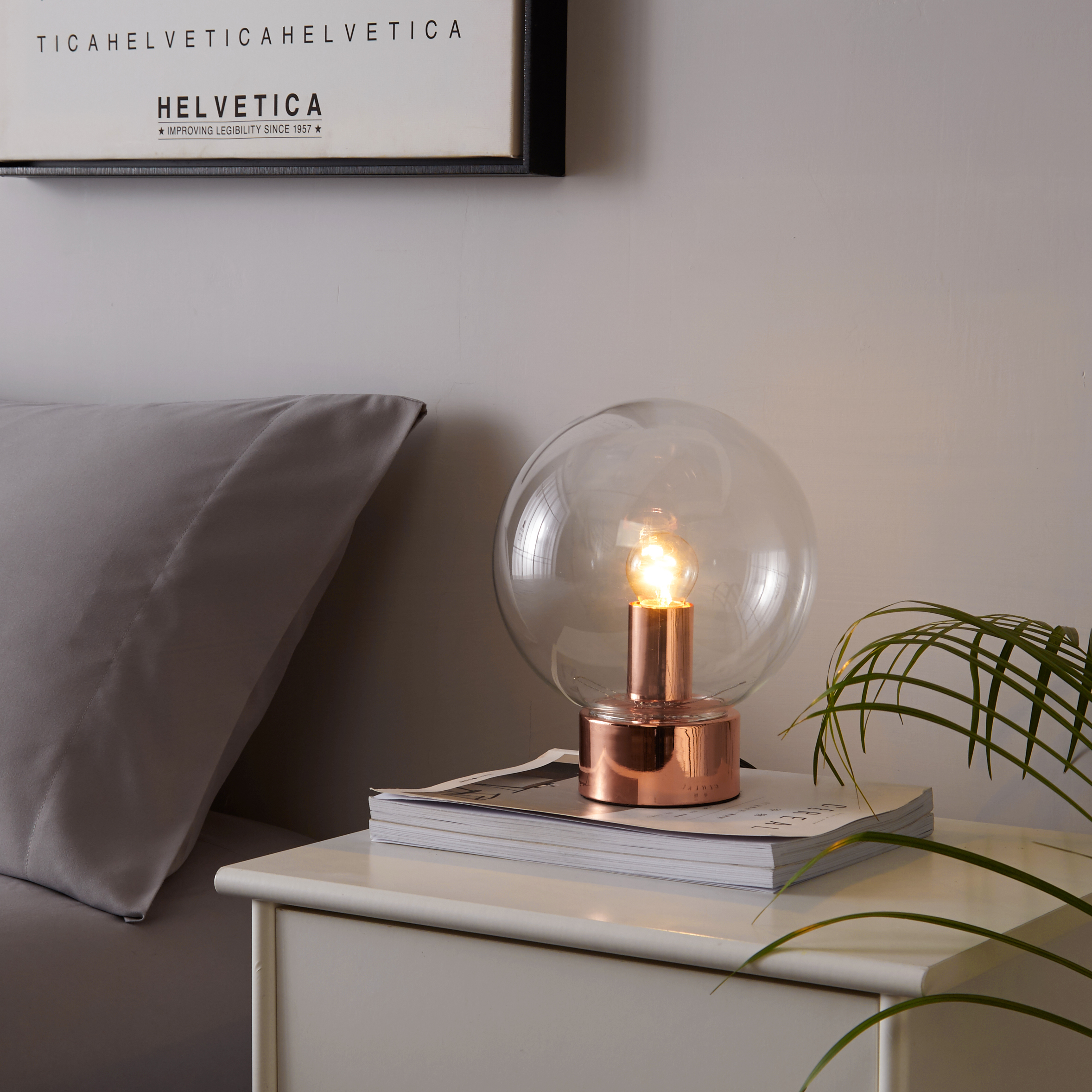 Better Homes And Gardens Orb Bulb Accent Lamp
