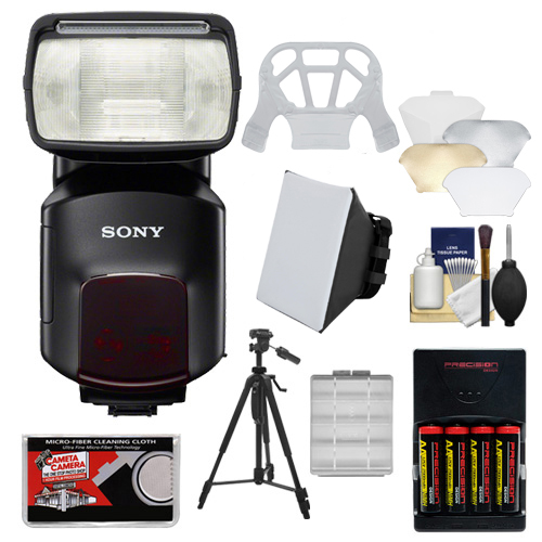 Sony Alpha HVL-F60M Flash with Video Light with Batteries...