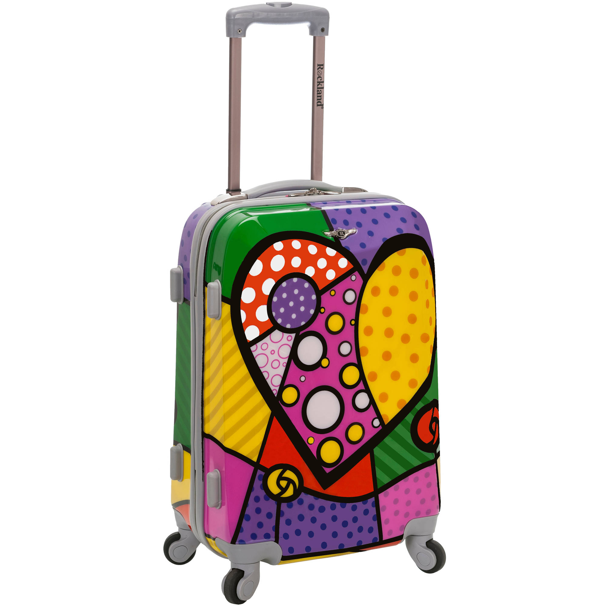 "Rockland Vision 20"" Polycarbonate Carry-On"