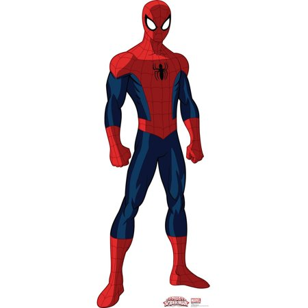 Spider-Man Standup, 6' Tall - Spiderman Cutout
