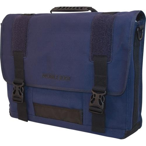 Mobile Edge Eco-Friendly ecollection ECO Messenger - Cotton Canvas - Blue