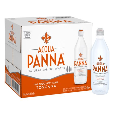 Acqua Panna Natural Spring Water, 25.3 fl oz. Plastic Bottles (12