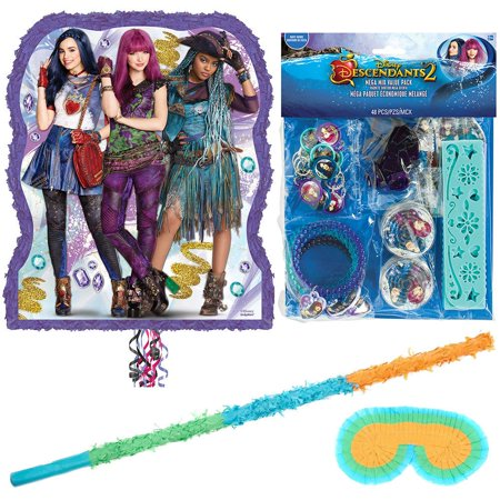 Disney Descendants 2 Deluxe Pull String Pinata Kit