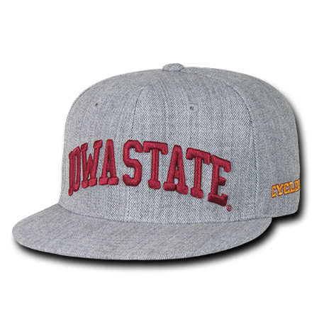 Iowa State Cyclones Game - NCAA Iowa State University Cyclones Game Day Snapback Caps Hats Heather Grey