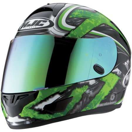 Rst Green (HJC 19-008 HJ-09 RST Color Mirror Coated Shield -)