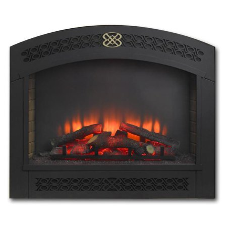 Outdoor Greatroom Full Arch Built In Electric Fireplace