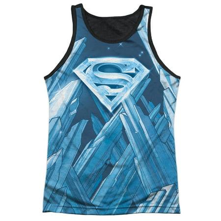 Superman Solitude Mens Tank Top Sublimation Shirt