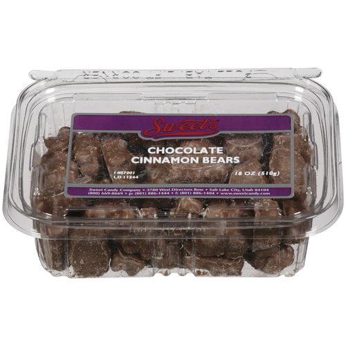Sweet's Chocolate Cinnamon Bears, 18 oz