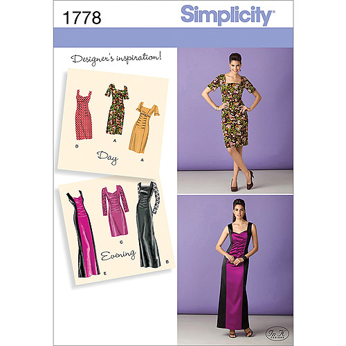 Simplicity Pattern Misses' Special Occasion, (6, 8, 10, 12, 14)