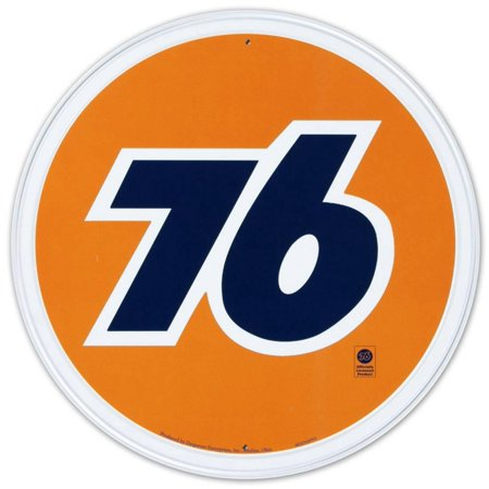 Union 76 Gasoline Gas Station Tin Sign - 12x12 (76 Gas Station & Smokey Point Liquor Store)