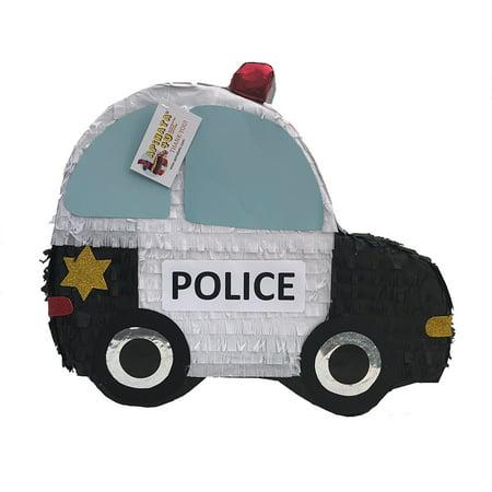 Police Car Lamp - APINATA4U 2-D Flat Police Car Pinata
