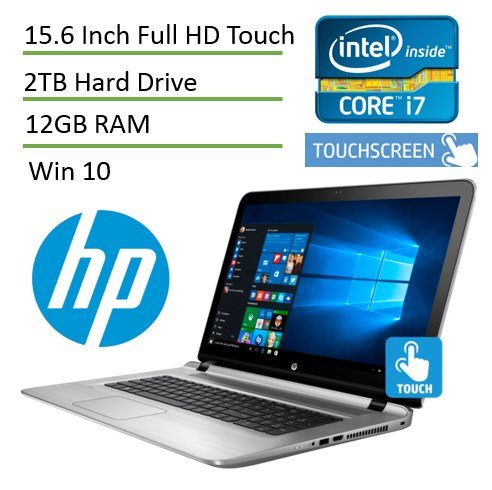 HP ENVY High Performance 17-s041nr Touch Laptop PC ( i7-6...