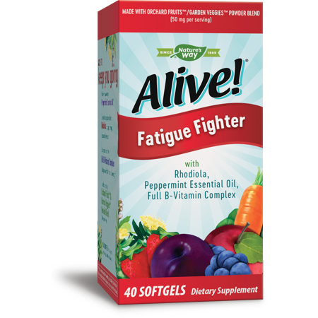 Alive! Fatigue Fighter Vitamin Supplement with Vitamin B Complex 40
