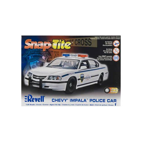 851928 1/25 Snap '05 Impala Police Car Multi-Colored