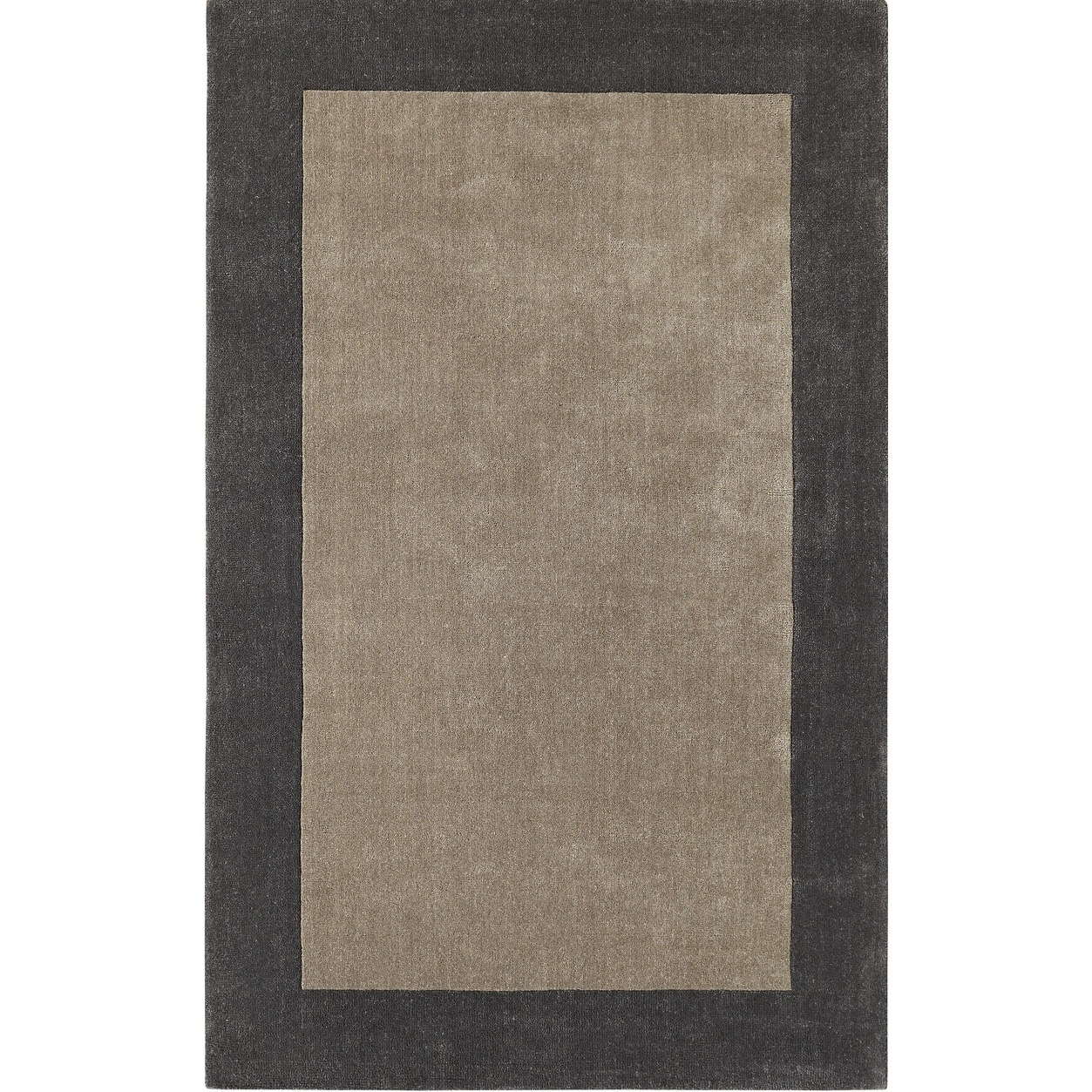 Dynamic Rugs Manhattan Silver/Charcoal rug (2x4)