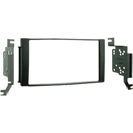 Install Dash Combo - Metra 95-7325B Car Stereo Double DIN Kit Radio Install Dash Kit Combo for Santa Fe (Black)