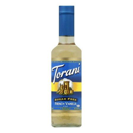 Torani Syrup Sugarfree French Vanilla, 12.7 FO (Pack of4)