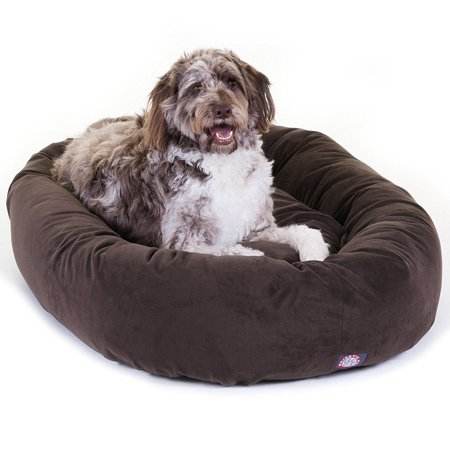 Majestic Materials - Majestic Pet Bagel Pet Bed Micro Suede Extra Large 52