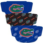 Florida Gators WinCraft Adult Face Covering 3-Pack