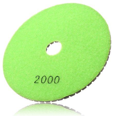 "1Pcs 125 mm/5"" Polishing Pads Wet/Dry Diamond Polishing Pads For Granite Concrete Marble Polish, Grit 30-100000 - image 6 of 7"