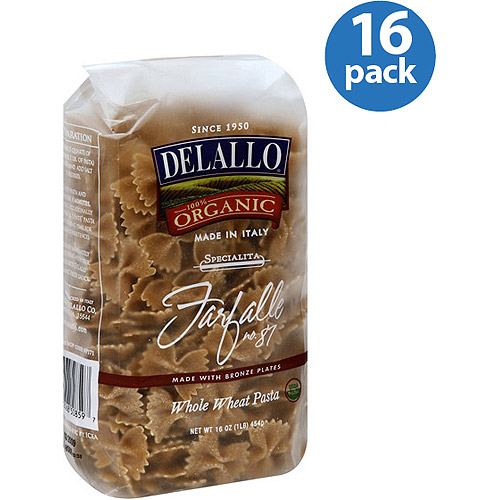 DeLallo Farfalle, 16 oz, (Pack of 16)