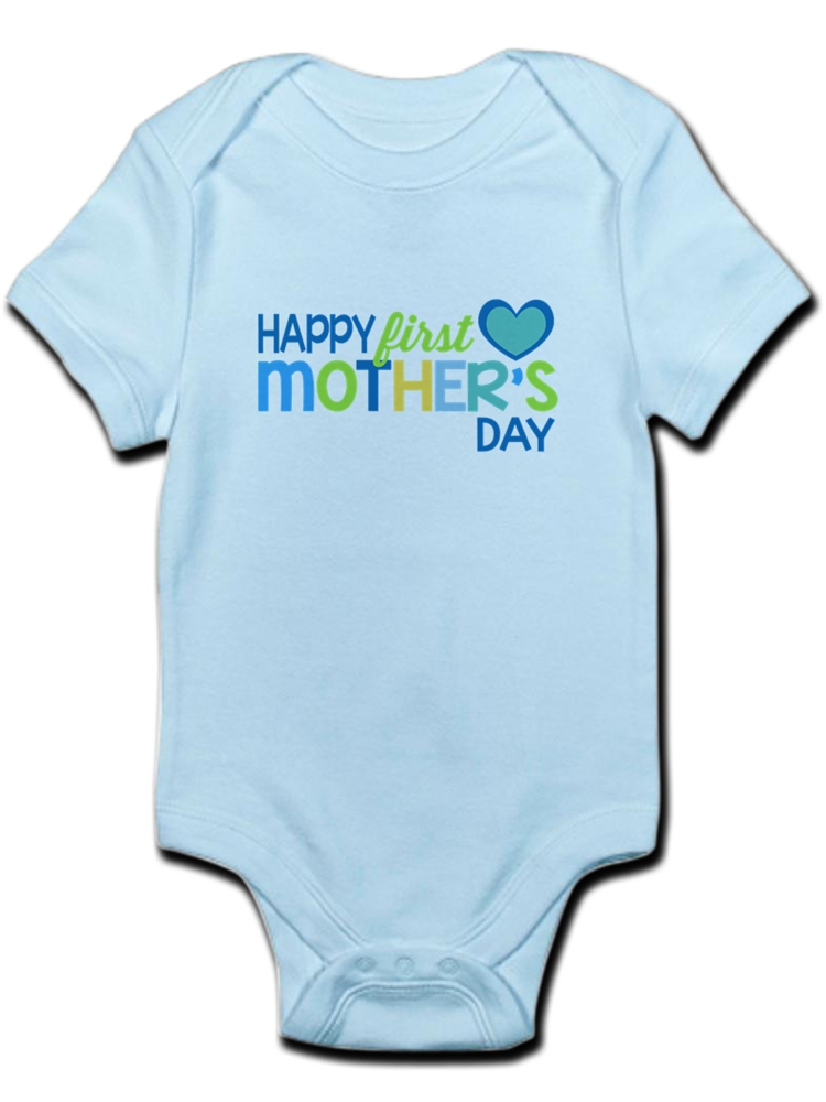 CafePress Bike Smile Cute Long Sleeve Infant Bodysuit Baby Romper