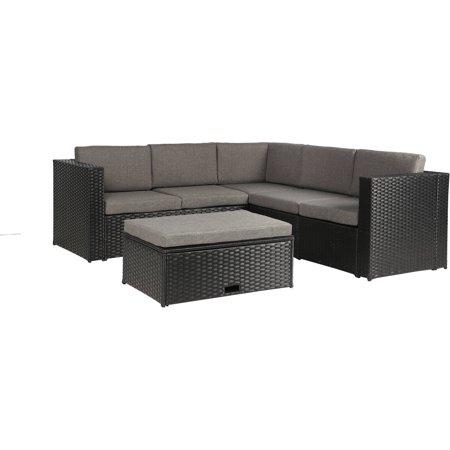 Baner Garden Outdoor Furniture Complete Patio PE Wicker ...