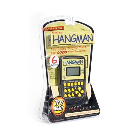 Hand Held Electronic Hangman Game