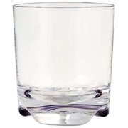 Virtually Unbreakable Double Old Fashion Glass, Clear ,Strahl, 100053
