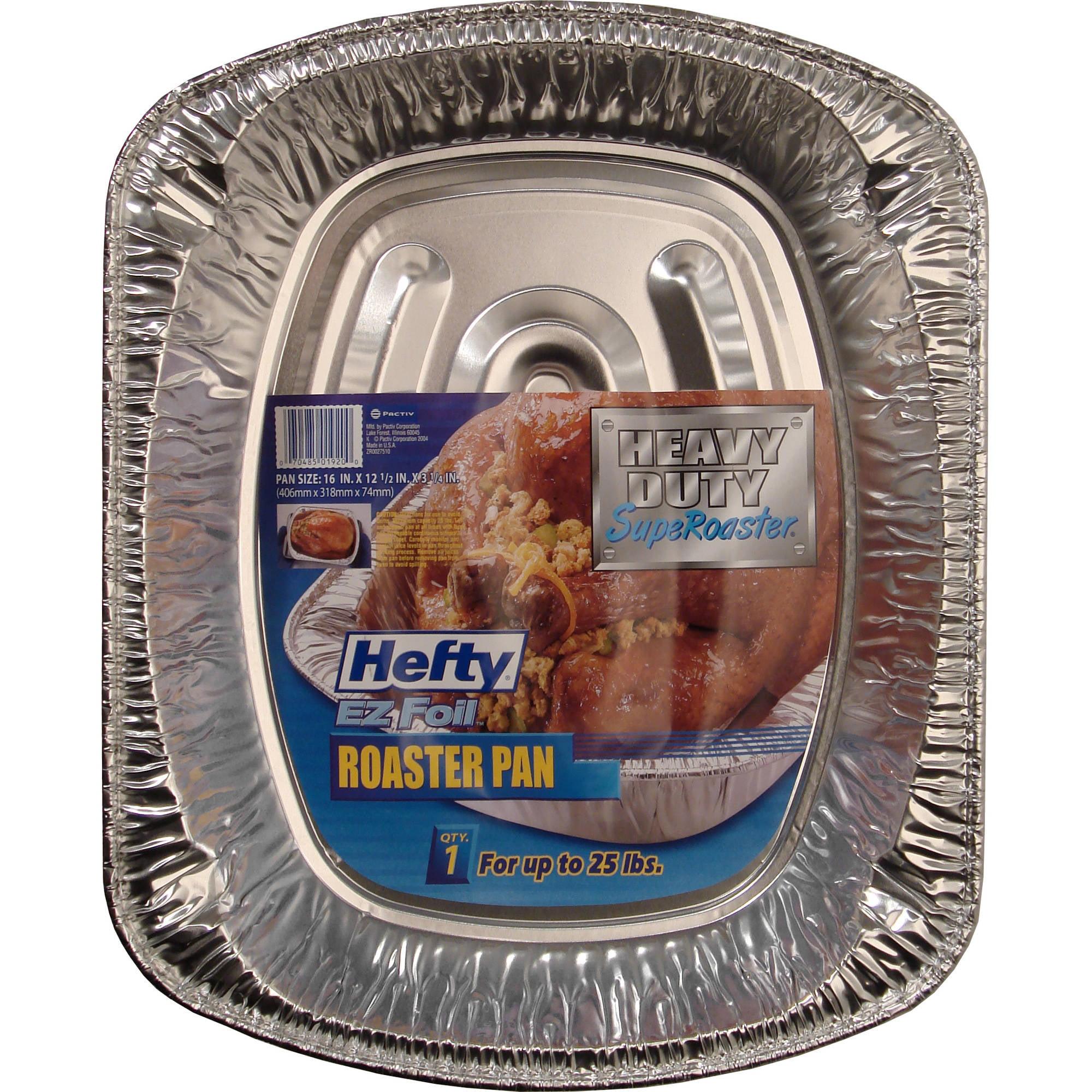 Hefty EZ Foil 25-Pound Super Roaster