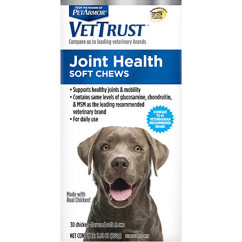 VetTrust Joint Health Soft Chews for Dogs & Cats, 30 count