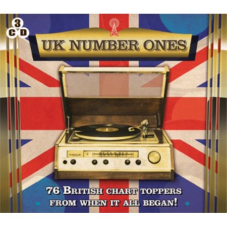 Uk Number Ones  76 British Chart Toppers From When It All Began   3 Cd